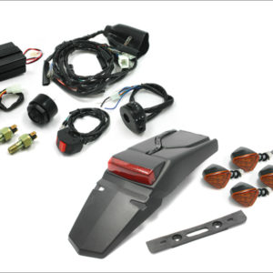 MOTO LED EZ Electric Wire Kit with Anato/601Flasher