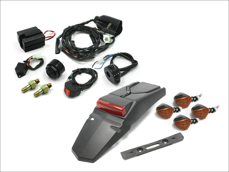 MOTO LED EZ Electric Wire Kit with Anato/601Flasher - Langston Racing
