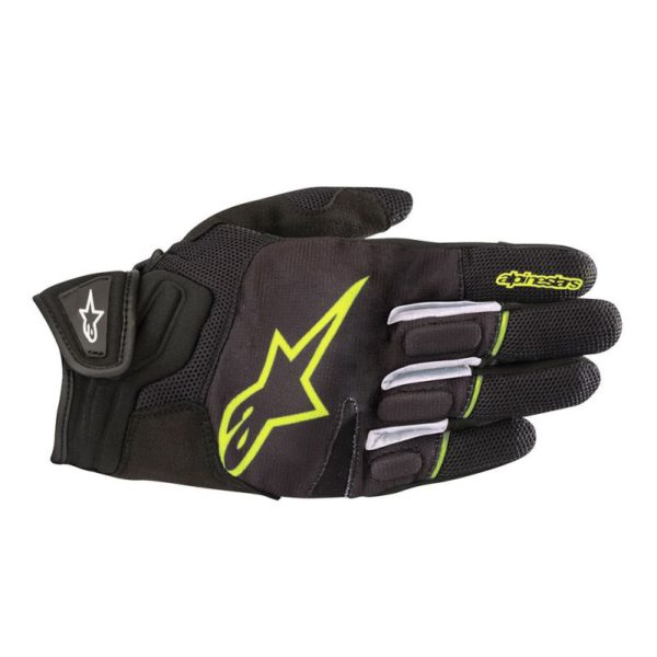 ATOM GLOVE Black Yellow