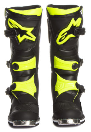 TECH 1 BOOT Black Yellow